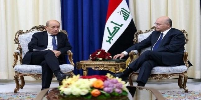 Irak Cumhurbaşkanı Salih: Türkiye saldırılarını durdurmalı