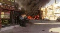 Haseke'de IŞİD'lilerin bulunduğu cezaevi etrafında patlama