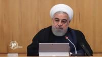 Hasan Ruhani: ABD'nin Baskılara rağmen İran milleti daha da güçlenmiştir