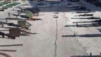 Suriye'nin Rif Demeşk Eyaletinde ABD silahları ve mühimmatları bulundu