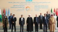 Hasan Ruhani: ABD'nin İran'a karşı yaptırımları, insanlığa karşı suçtur