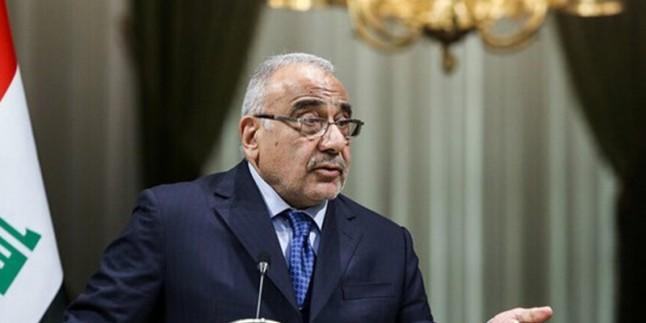 Irak başbakanından ABD'ye müdahale eleştirisi
