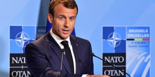 Macron: NATO beyin ölümü yaşıyor