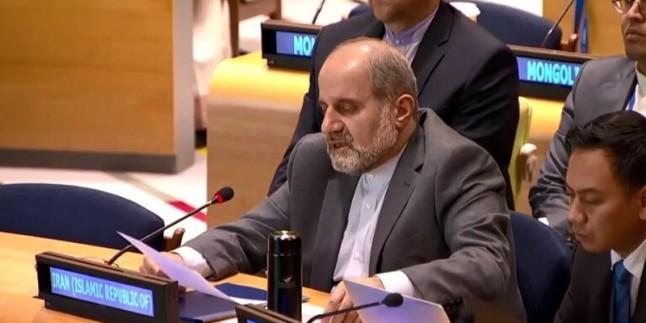 ABD'nin İran temsilciliğine dayattığı kısıtlamalara tepki