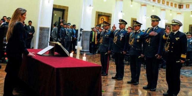 Bolivya darbe liderleri Amerika'da eğitim almış