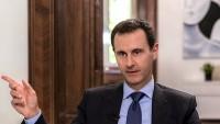 Esad: Batılı ülkeler, yaptırımlarla Suriye halkına zarar veriyor