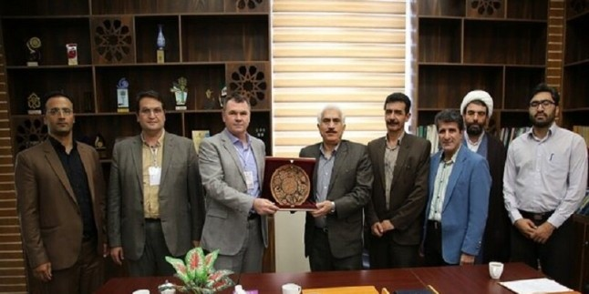 Türkiye'nin Hacı Bektaş Veli Üniversitesi ile İran'ın Loristan Üniversitesi arasında iş birliği protokolü imzalandı