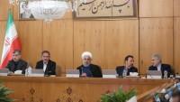 Hasan Ruhani: İran milletinin direnişi ABD kumpaslarını bozdu