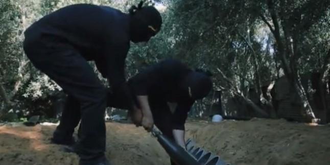 Gazze Direniş Füzeleri Sderot'ta Bir Fabrikayı Vurdu