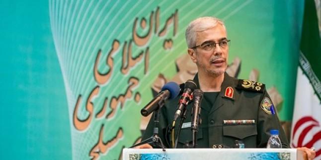 İran Genel Kurmay Başkanı: Düşmanlar Irak halkının haklı taleplerinden nemalanma peşinde