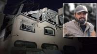 Siyonist İsrail Uçakları İslami Cihad Hareketi'nin Önemli Saha Komutanlarından Baha Ebu'l-Atâ Ve Eşinin İçinde Bulunduğu Evi Vurarak Şehid Etti