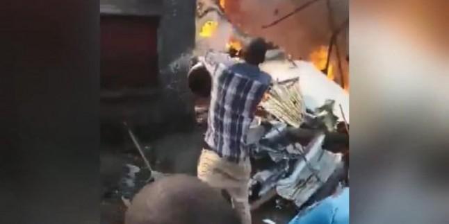 Kongo'da Düşen Uçak Kazasında 17 Kişi Hayatını Kaybetti