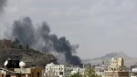 Katil Suudi Rejimi Hudeyde'yi bombalamaya devam ediyor