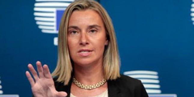 Federica Mogherini görevini bıraktığını bildirdi