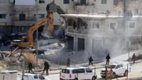 Kudüs'te Filistinlilerin 165 evi yıkıldı