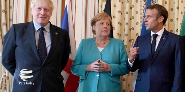 Fransa, Almanya ve İngiltere'den, İslami İran'a tehdit