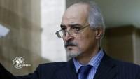 Beşar El Caferi Batı'ya Seslendi: Teröristlerinizi Suriye'den Çekin