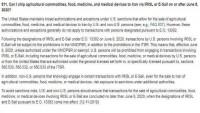 Amerika'nın İran ile gıda ve ilaç ticaretine engel olma çabalarını itiraf etmesi