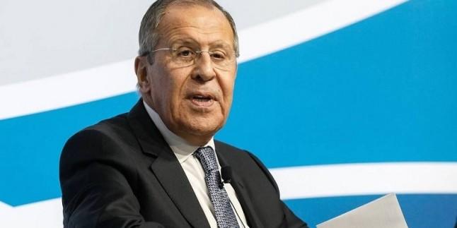 Lavrov: İran sorunları, Amerika'nın illegal yaptırımlarından kaynaklanıyor