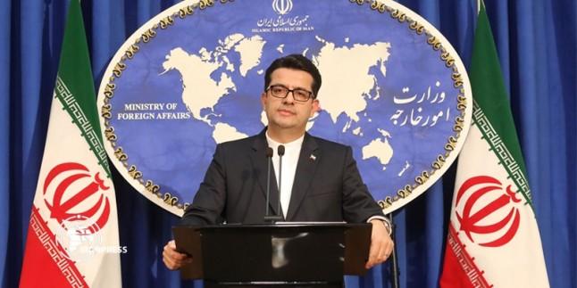 İran ABD kongresinin Çin'e karşı hareketini kınadı