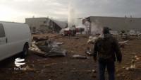 Amerika Uçak Fabrikasında Patlama: 14 kişi yaralı