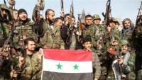 Suriye ordusu yeni bir kritik bölgeyi ele geçirdi