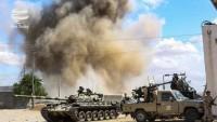 Libya'daki Hafter güçlerine bağlı savaş uçakları Trablus'u bombaladılar
