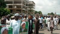 Nijeryalı öğrencilerden Şeyh Zakzaki'ye destek