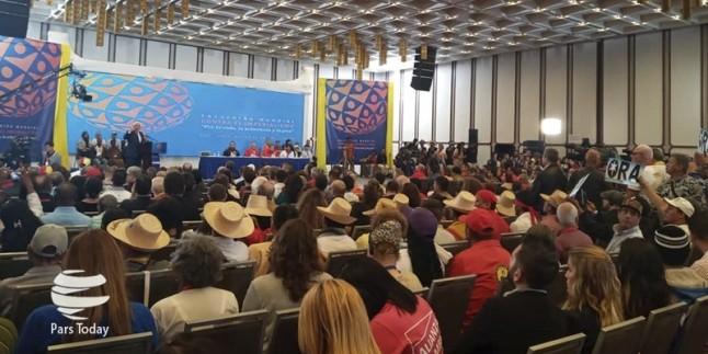 Venezuela 'Emperyalizme Mücadele Semineri'ne evsahipliği yapıyor