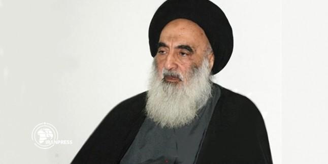 Ayetullah Sistani, Irak toprak bütünlüğü ve birliğinin korunmasına vurgu yaptı