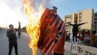 Iraklı Protestocular ABD Büyükelçiliği Önünden Çekildi