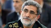 Cevad Zarif, Kudüs Ordusu'nun yeni komutanını kutladı