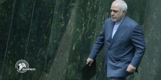 Zarif: Düşman İran milleti karşısında acziyet hissediyor