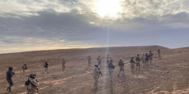 Irak Ordusu 5 IŞİD'li Komutanı Sağ Olarak Ele Geçirdi