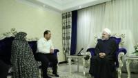 Ruhani: İran halkı devrimin ilk günleri gibi düşmanın komploları karşısında direnmekte