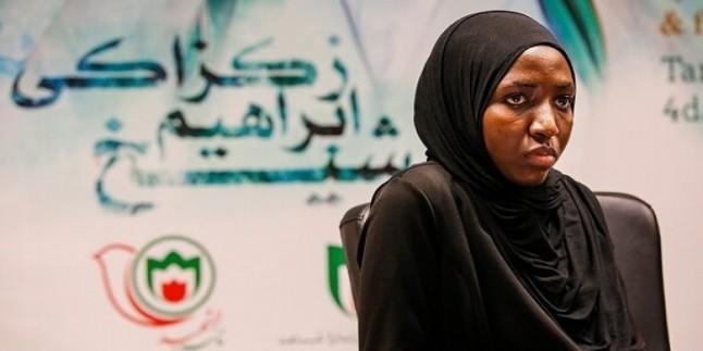 Nijerya İslam Hareketi liderinin kızı: Şeyh Zakzaki'nin Düşmanları İmam Humeyni'nin Düşüncesine Bağlılığından Korkuyor