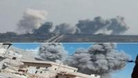 Suriye Savaş Uçakları Tekfirci Teröristlerin Toplanma Merkezlerini Bombaladı: 50 Ölü