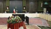 Hasan Ruhani: ABD'nin yardım iddiası büyük bir yalandır