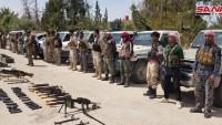 Suriyedeki teröristler ABD üssünden kaçıp suriye ordusuna sığındılar