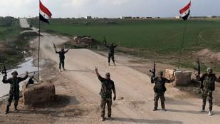 Suriye ordusu, Amerikan askeri konvoyunun geçişine engel oldu