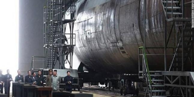 Seul: Kuzey Kore'nin yeni nükleer deniz altısı yakında faaliyete geçecek