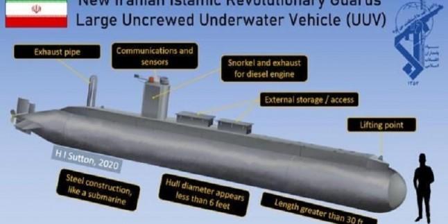 Amerika'nın Forbes Dergisi: İran insansız denizaltı yapabilen 3 ülkeden biri oldu!
