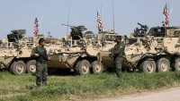 Büyük Şeytan ABD Suriye'nin petrol bölgesinde yeni bir askeri üs kuruyor