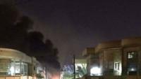 Bağdat yeşil bölgesine roketli saldırı