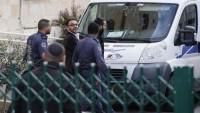 Katil İsrail Kudüs Valisi Gays'ı Gözaltına Aldı