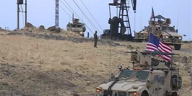 ABD Suriye petrolünü çalmaya devam ediyor