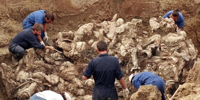 Irak'ın kuzeyinde toplu mezar bulundu