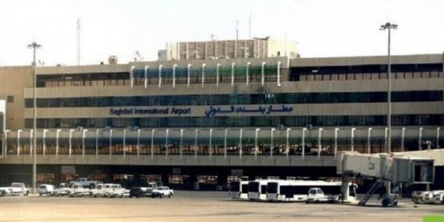 Bağdat Havalimanı'nın askeri bölgesine roketli saldırı