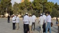 Siyonist İşgalcilerden Mescidi Aksa'ya Baskın