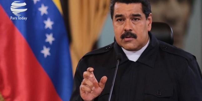 Venezuela Cumhurbaşkanı Maduru, İran İslam Cumhuriyeti'ne yardımlarından dolayı teşekkür etti